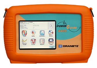 The Dranetz PowerGuide 4400 Power Quality Analyzer