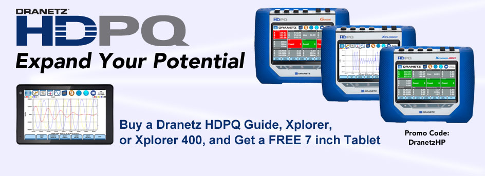 Dranetz Tablet Giveaway - Homepage