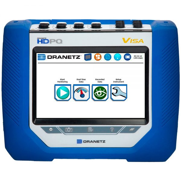 Visa Power Quality Analyzer - Portable Power Monitoring Tool - Dranetz