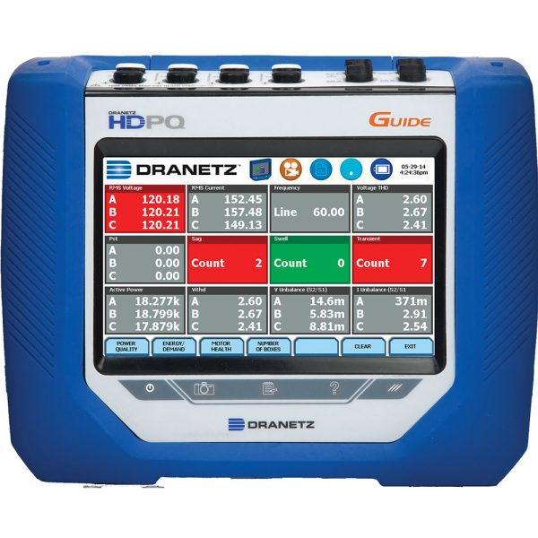 Guide Power Quality Analyzer - Portable Power Monitoring Tool - Dranetz