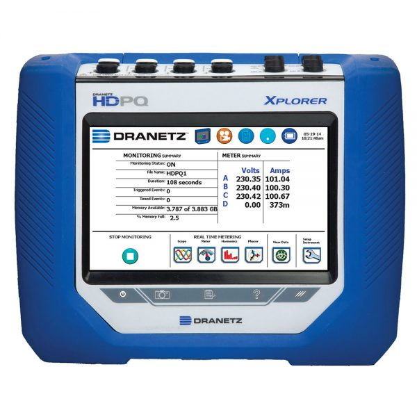 Xplorer Power Quality Analyzer - Portable Power Monitoring Tool - Dranetz