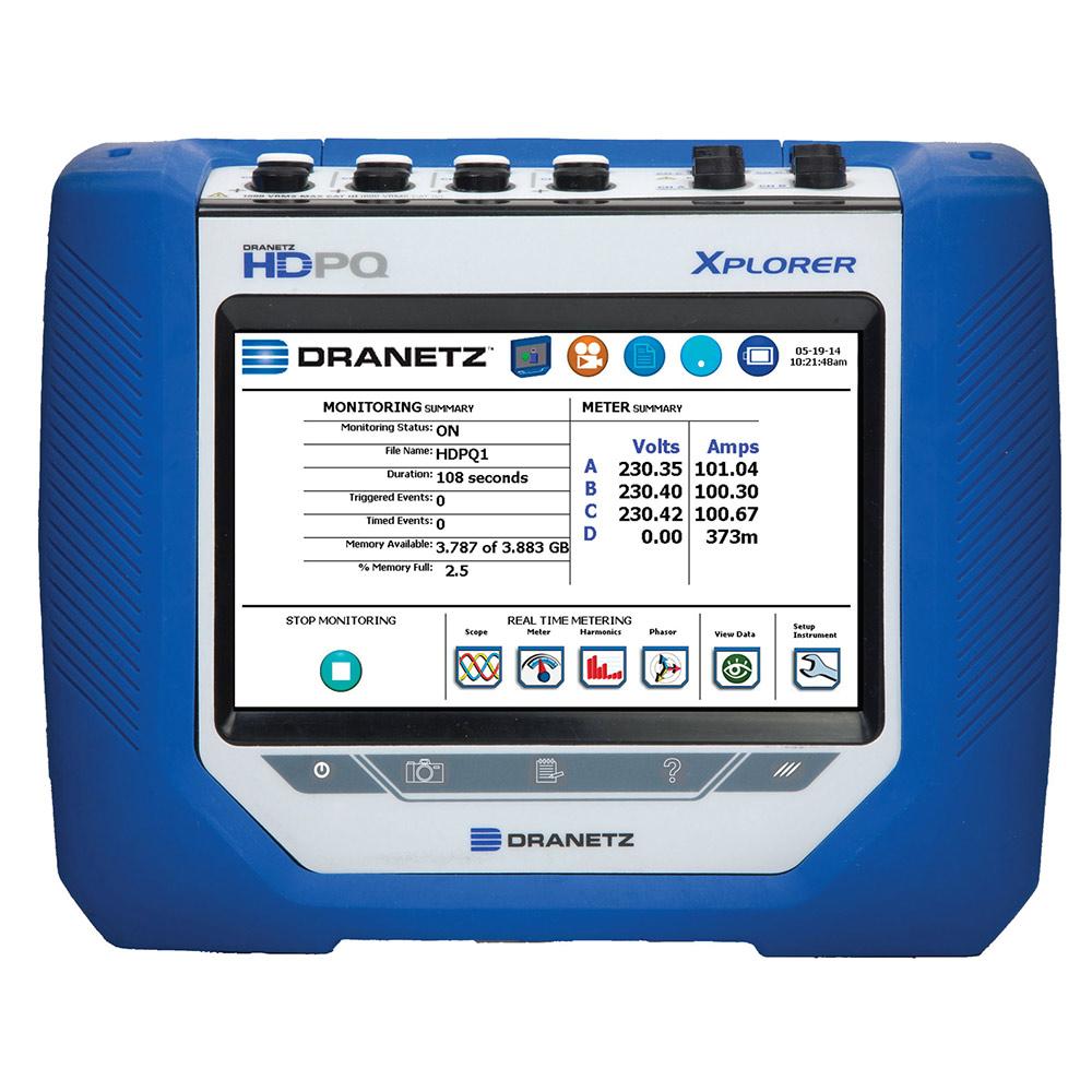 The Dranetz HDPQ Xplorer Power Quality Analyzer | Dranetz
